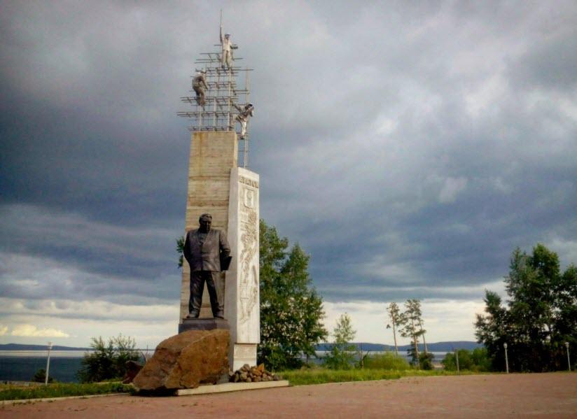 Памятник Покорителям Ангары