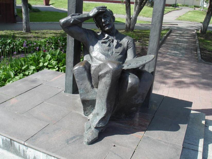 Памятники Марку Шагалу