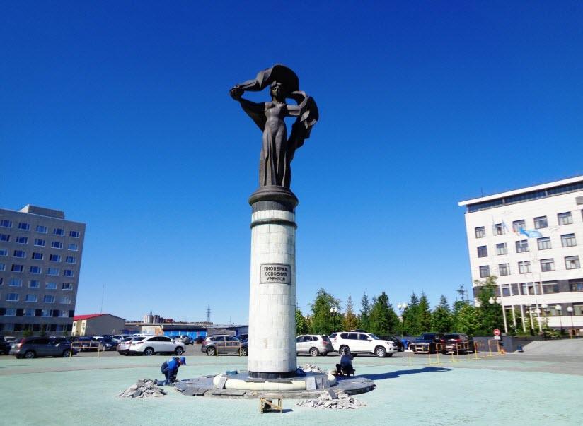 Пионерам освоения Уренгоя