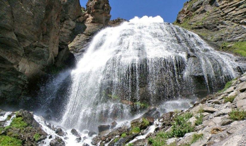 Водопад Азау