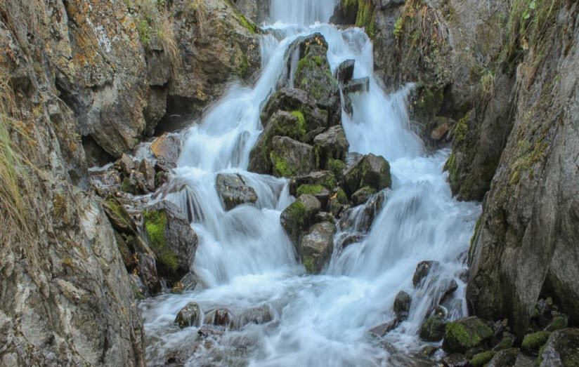 Водопад Бельтыртуюк
