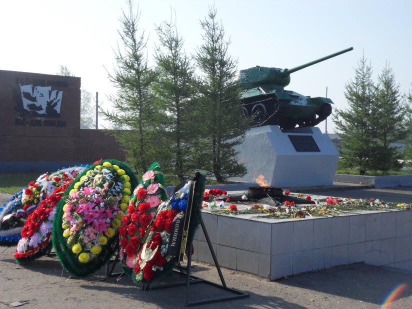 Мемориал умершим от ран в годы ВОВ в госпиталях Соликамска