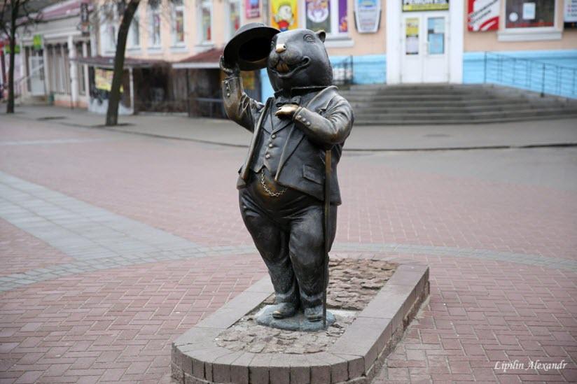 Памятник Бобру