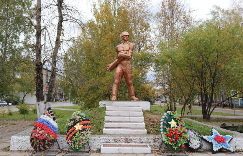 Памятник Николаю Латкину