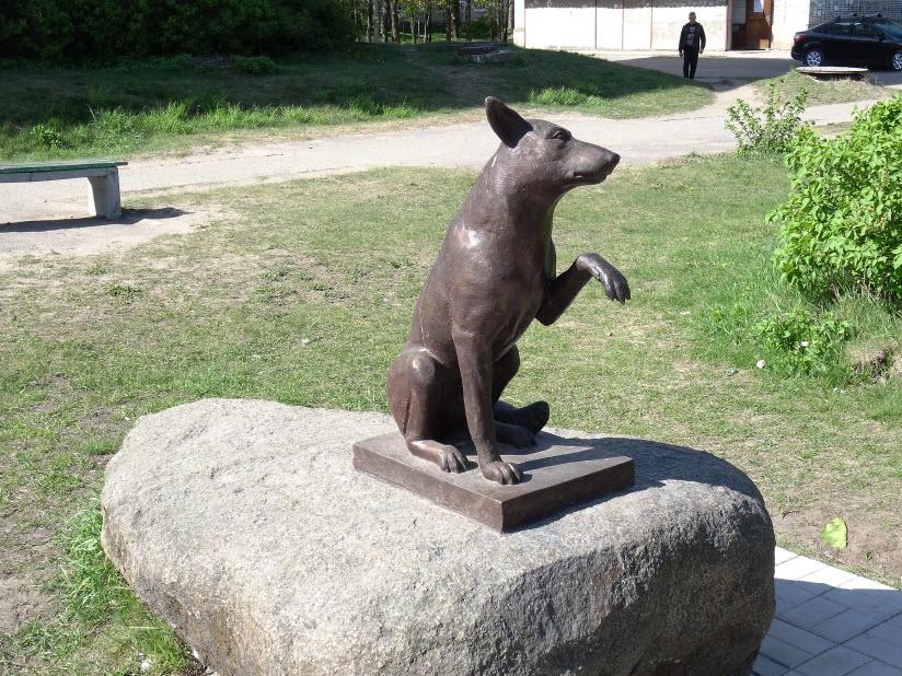 Памятник псу Юрику