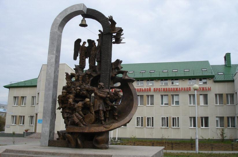 Памятник участникам ликвидации радиационных и техногенных катастроф