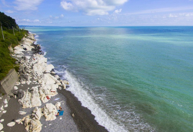Пляж Белые скалы