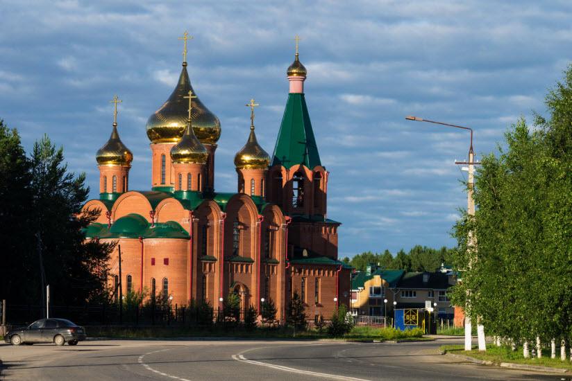 Церковь Новомучеников и Исповедников Российских, в земле Коми просиявших