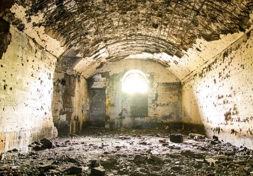 в зданиях Брестской крепости