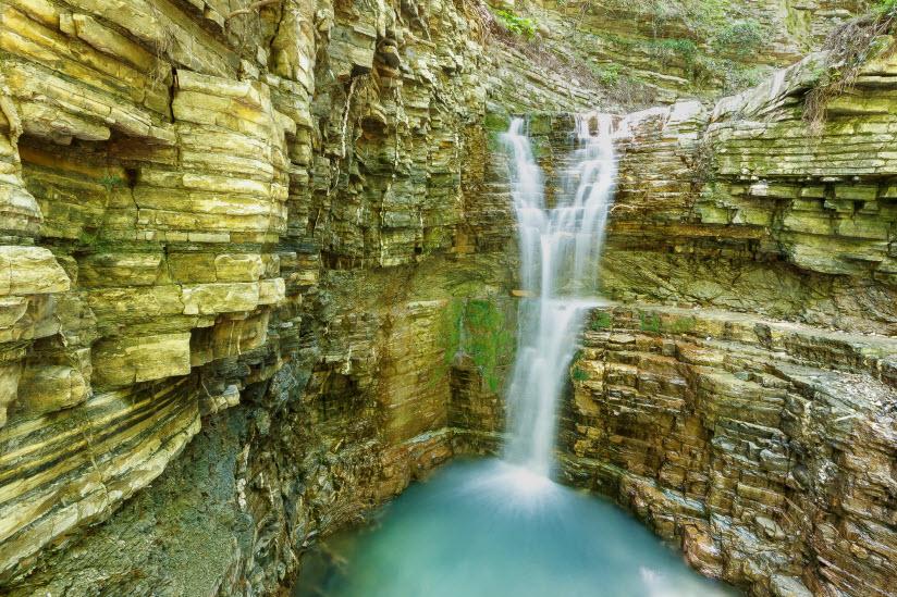 Водопады «Серенада любви»
