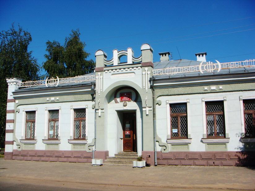 Здание детской библиотеки им. А.Н. Островского