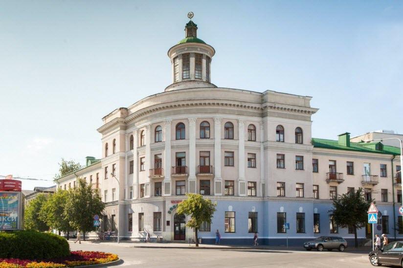 Здание гостиницы «Бобруйск»