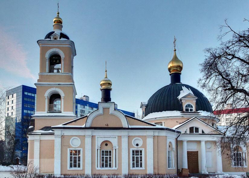 Храм Гребневской иконы Божией Матери