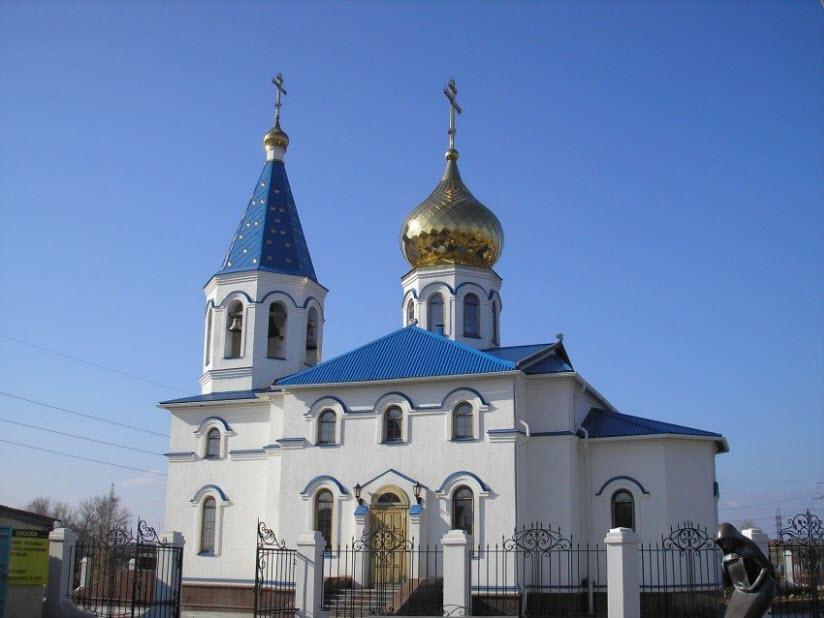Храм во имя благоверного князя Александра Невского