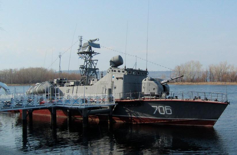 Корабль-музей «Покровский сторожевой»