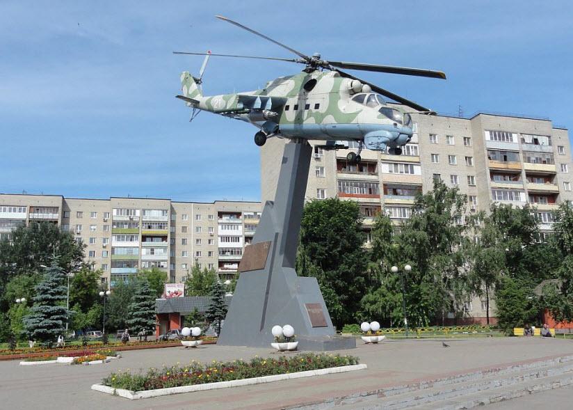 Памятник героям-вертолетчикам
