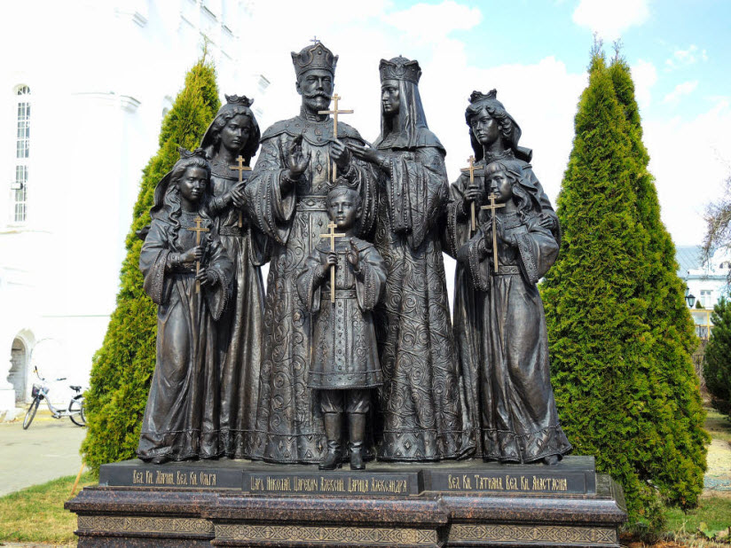 Памятник семье Николая II