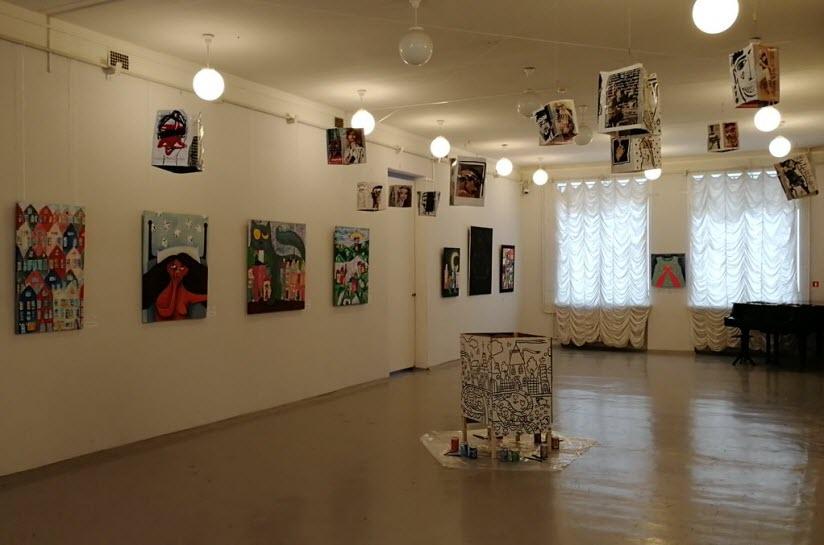 выставки художественной галереи