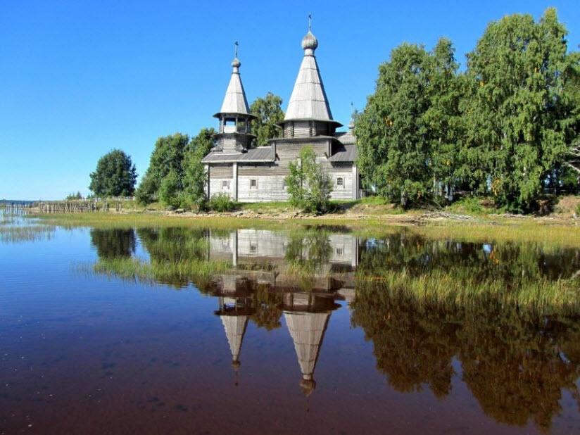 Богоявленская церковь в Челмужах
