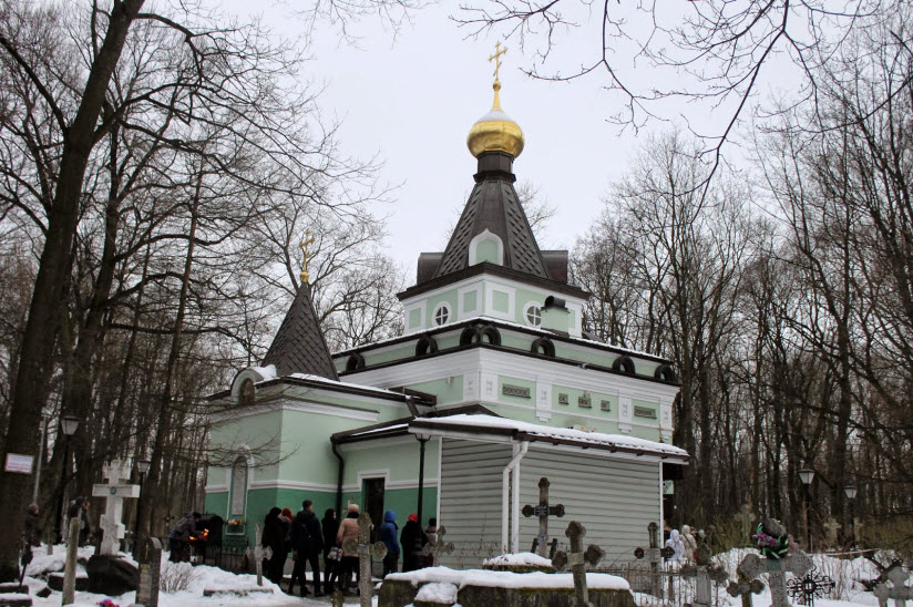 Часовня святой Блаженной Ксении Петербургской