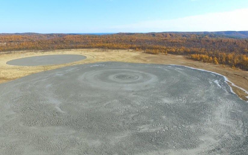 Грязевой вулкан Пугачева
