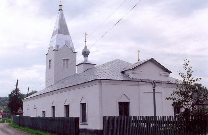 Храм Ильи Пророка в Медвежьегорске