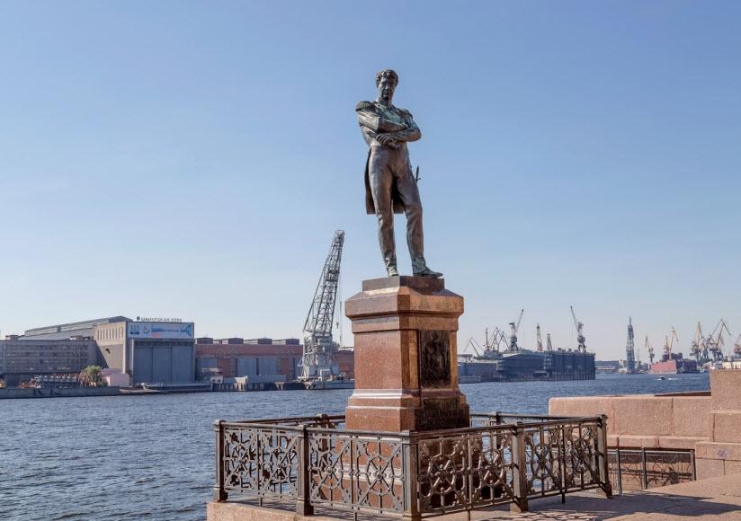 Памятник И.Ф. Крузенштерну