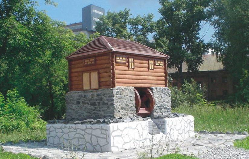 Памятник первой мельнице