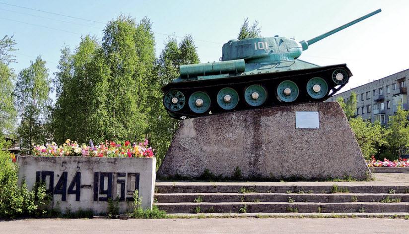 Памятник советским воинам-освободителям