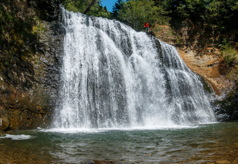 Водопад Черемшанский