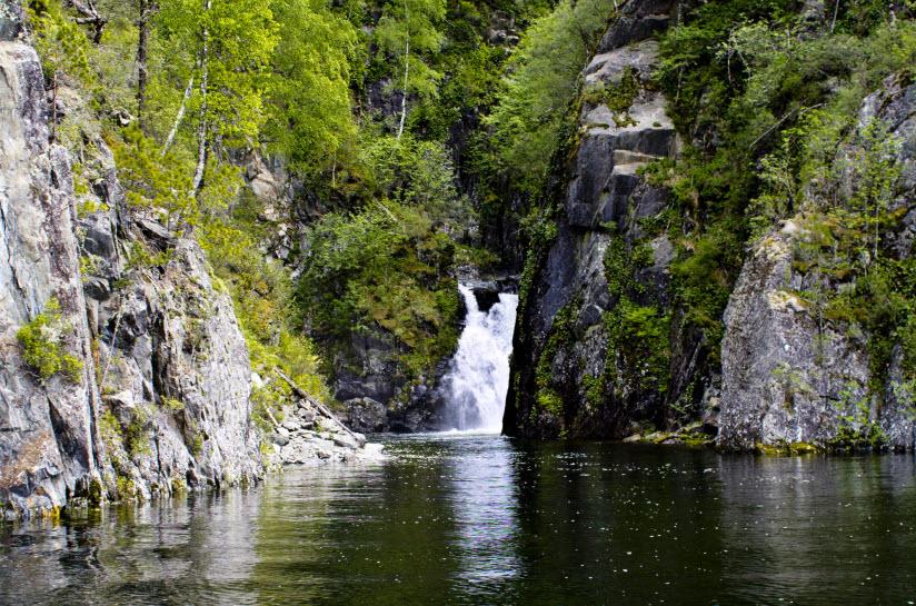 Водопад Киште