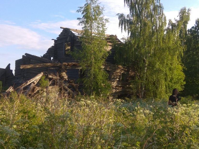 Заброшенная деревня Пегрема