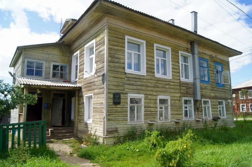 Дом, где жил Л.Н. Гумилёв