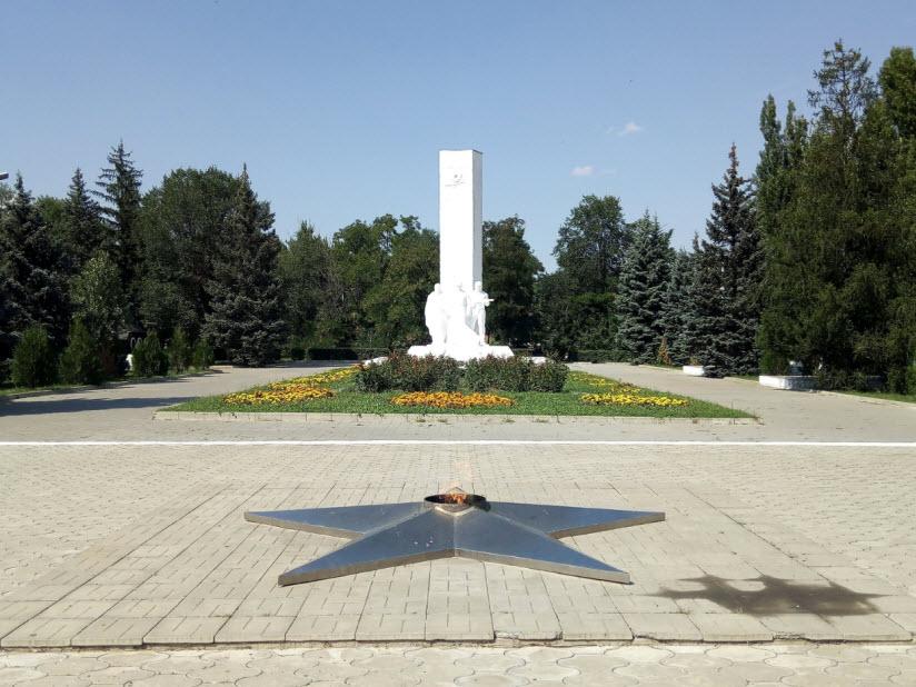Мемориал героям Гражданской и Великой Отечественной войны