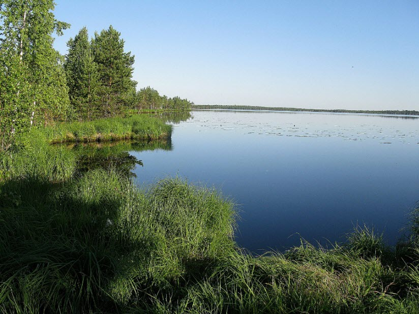 Озеро Большое Плотово