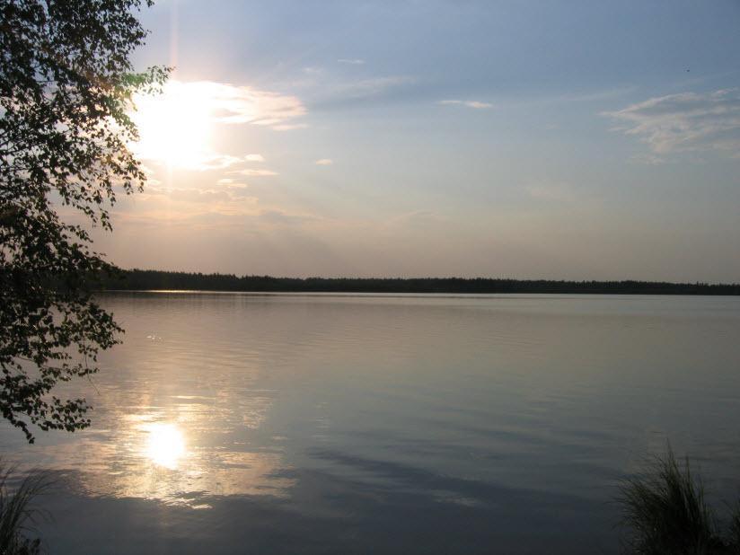 Озеро Большое Полюшкино