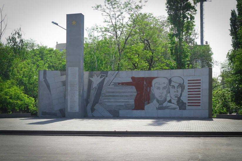 Памятник Героям-пионерам