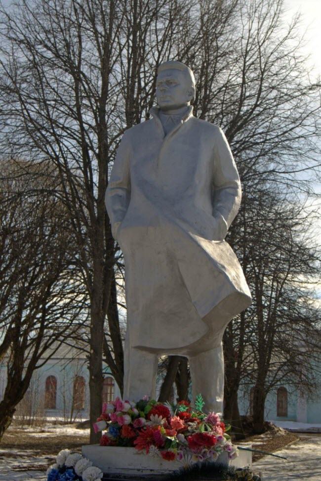 Памятник К.С. Заслонову