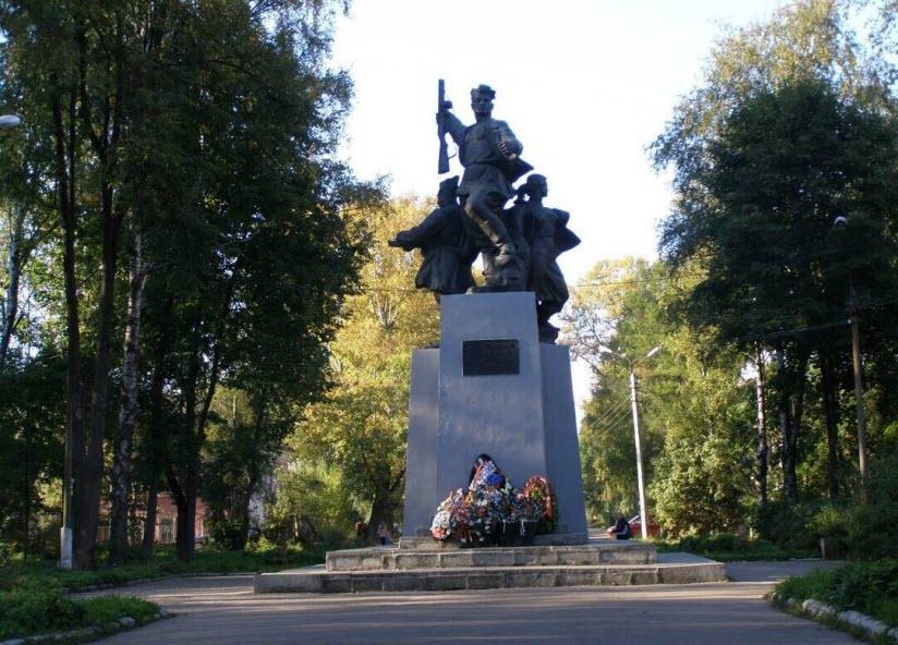 Памятник партизанам Великой Отечественной войны
