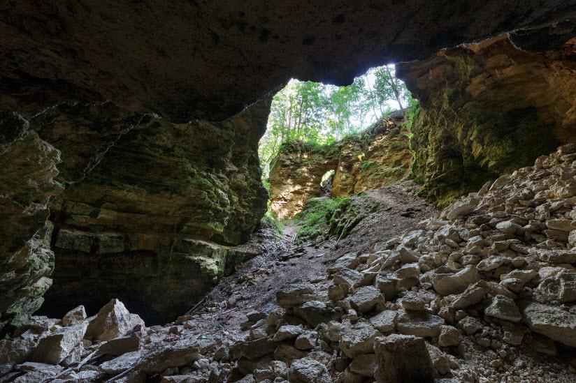 Пещеры Ичалковского бора