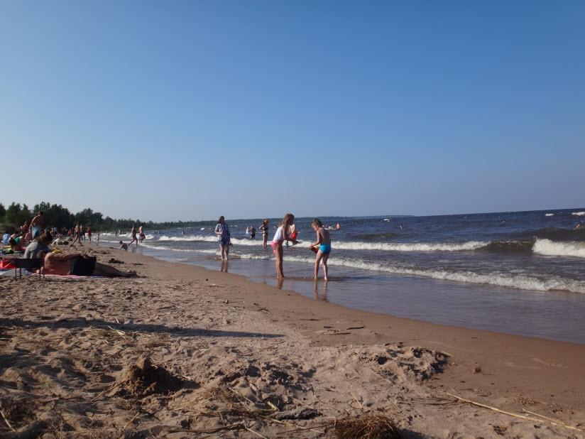 Пляж в Коккорево