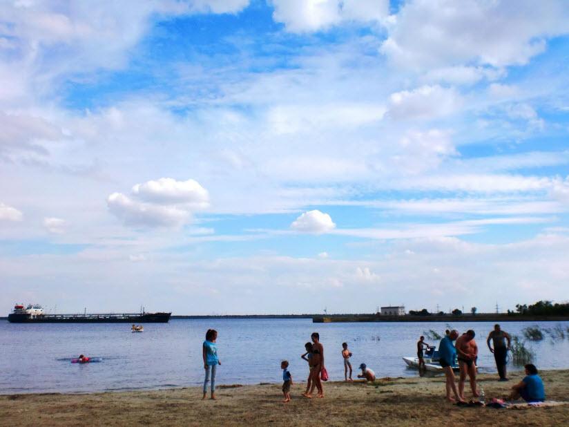 Пятиморский пляж