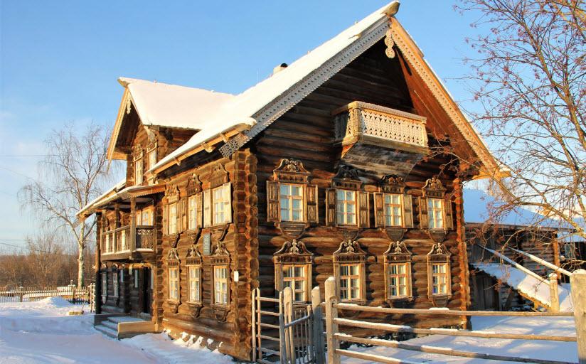 Шелтозерский вепсский этнографический музей им. Р.П. Лонина