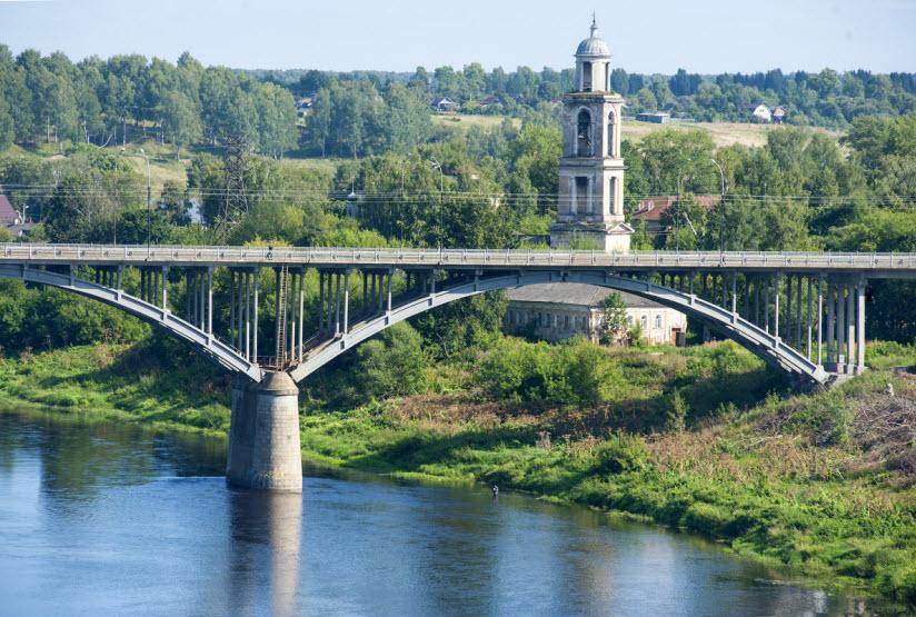 Старицкий мост через Волгу