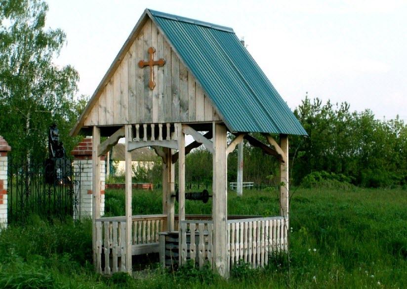 Святой колодец в Неклюдово