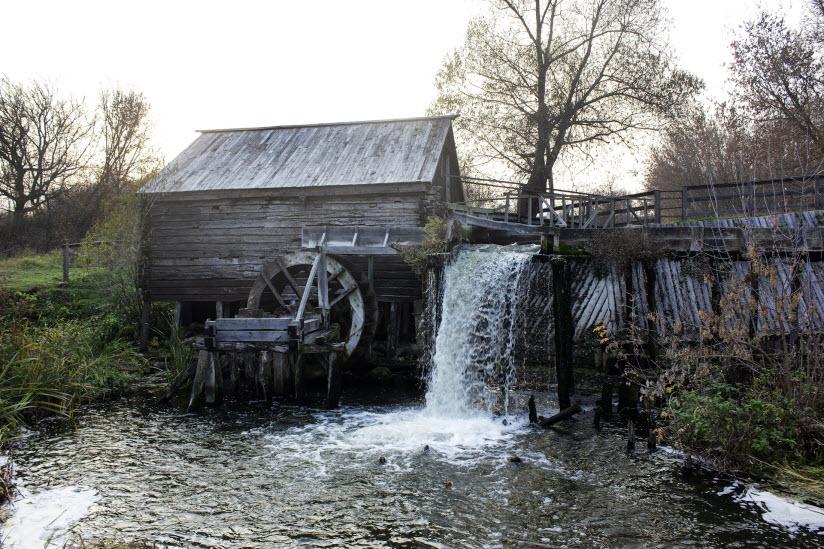 Водяная мельница в Красниково