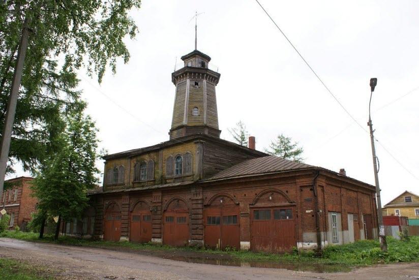 Здание пожарной команды