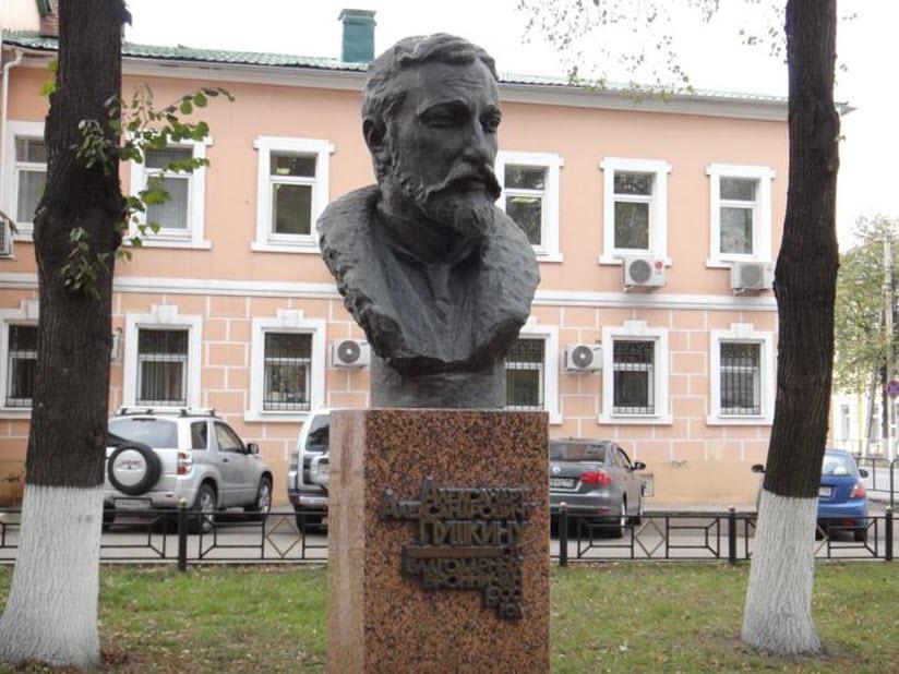 Бюст А.А. Пушкина