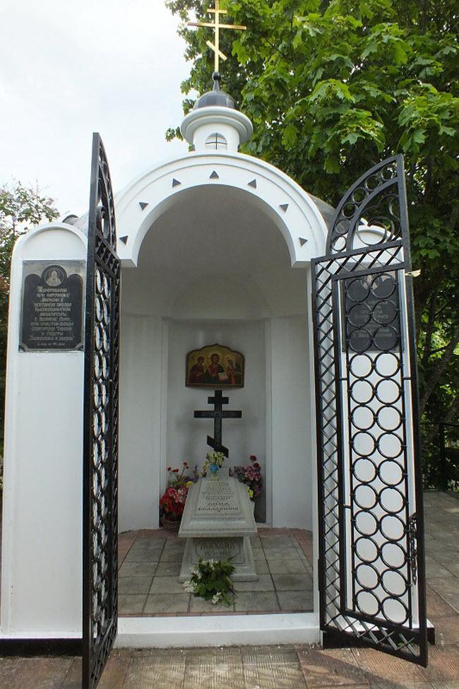 Часовня на могиле семьи патриарха Тихона