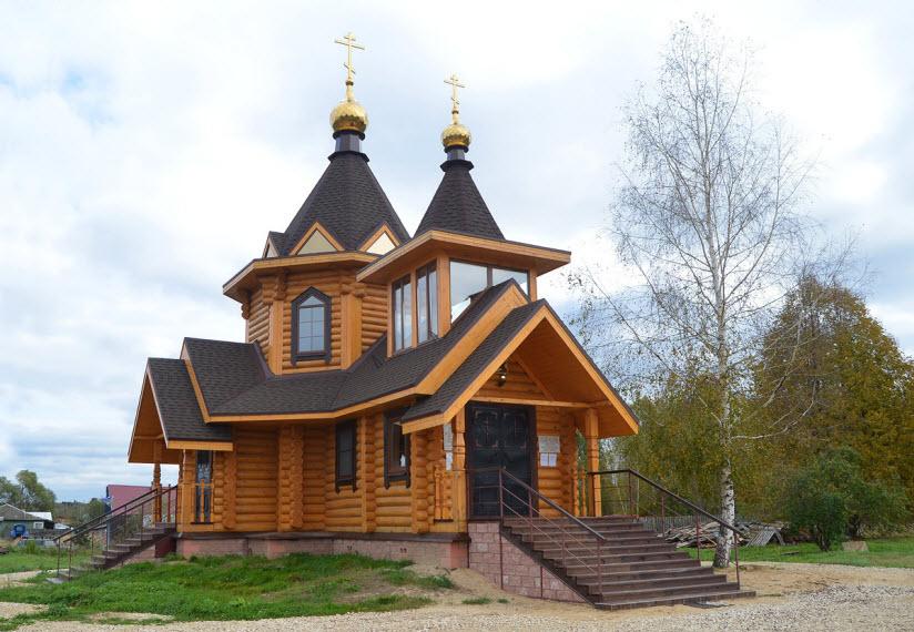 Часовня в деревне Анемнясево